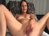 angel fucks double dildo webcam