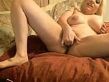 dirty talking big tit blonde has orgasm on cam webcam